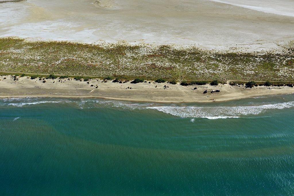 Parc Naturel Regional de Camargue, Arles, Pointe de Beauduc ou du Sablon