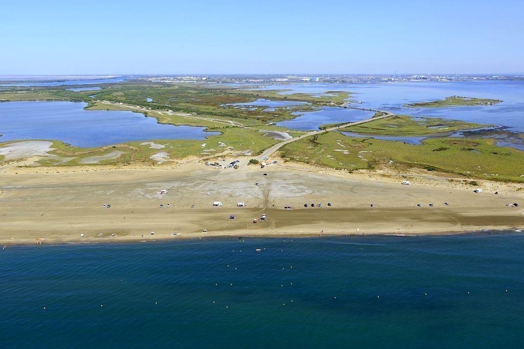 parc naturel regional de Camargue, Port Saint Louis du Rhone, plage Napoleon