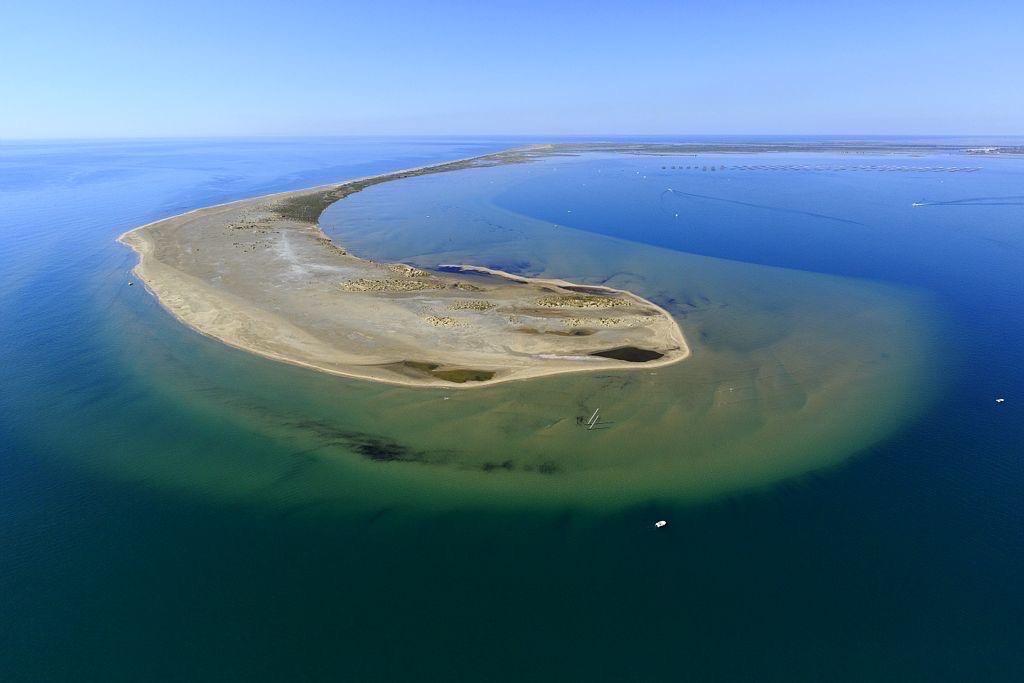parc naturel regional de Camargue, Port Saint Louis du Rhone, Golf de Fos sur Mer,  They de La Gracieuse
