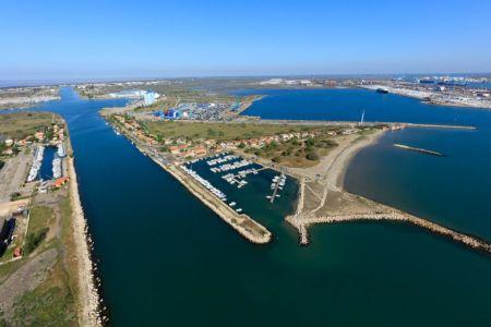 Port Saint Louis du Rhone, plage Olga, bassin des Tellines