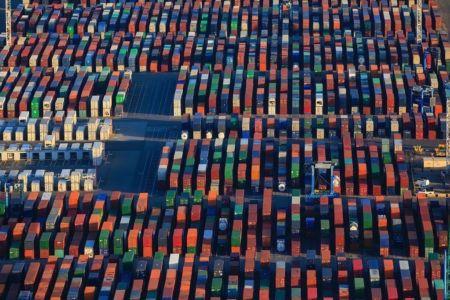 Golfe de Fos sur Mer, Grand Port Maritime de Marseille, Fos sur Mer, Mole Graveleau, terminal conteneur