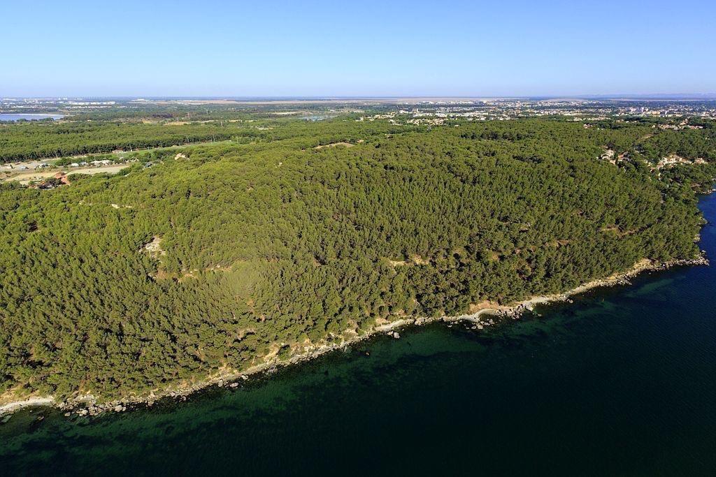 Istres, quartier La Pinede, Pinede des 4 Vents, etang de Berre