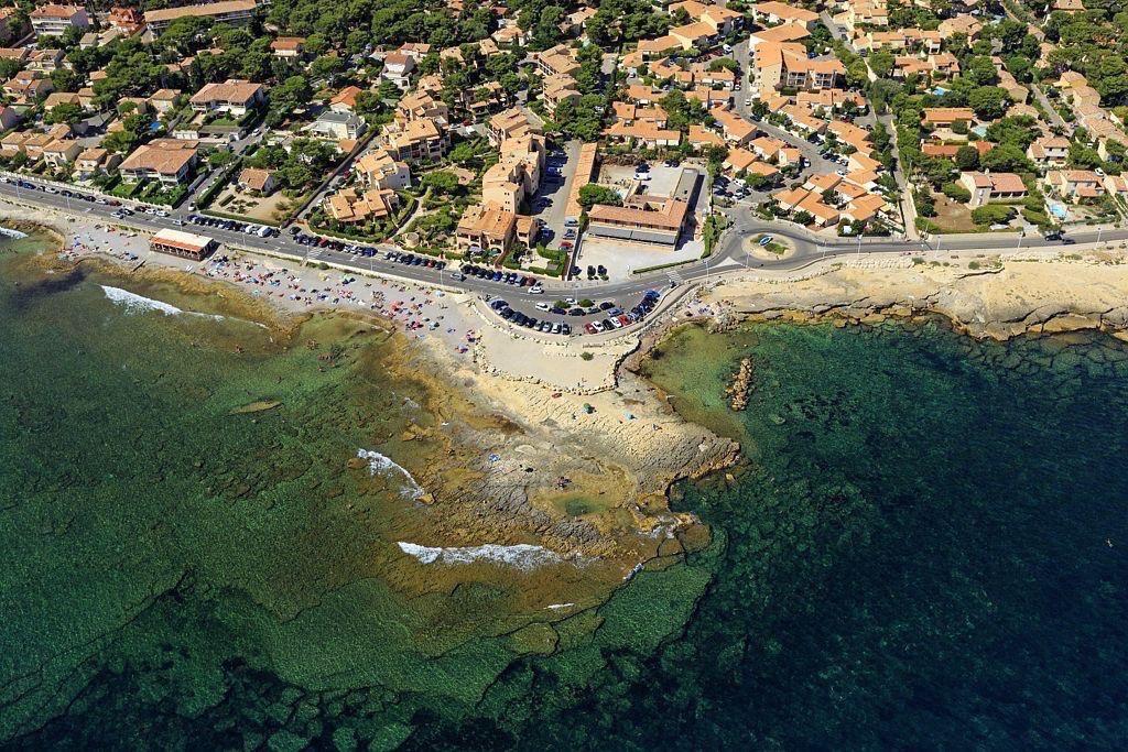 La Cote Bleue, Sausset les Pins, plage de la Corniche