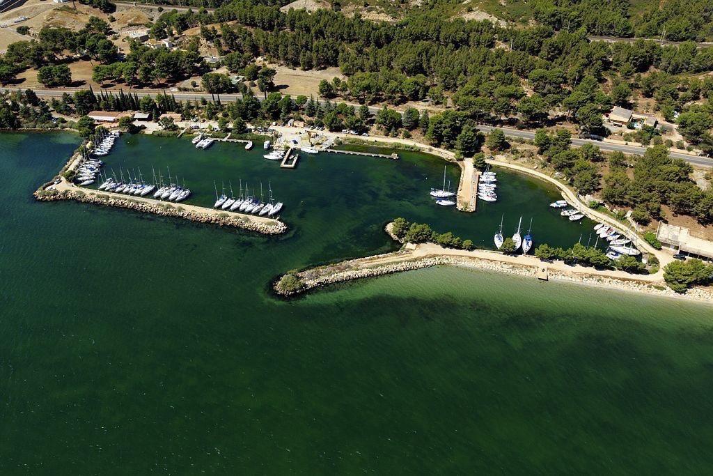 Saint Chamas, quartier Beau Rivage, etang de Berre, Port du Canet (dit Port de Beau Rivage)