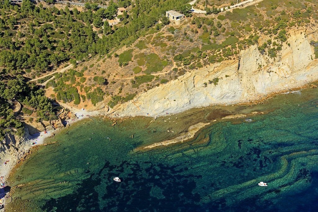 La Cote Bleue, Ensues la Redonne, calanque des Anthenors