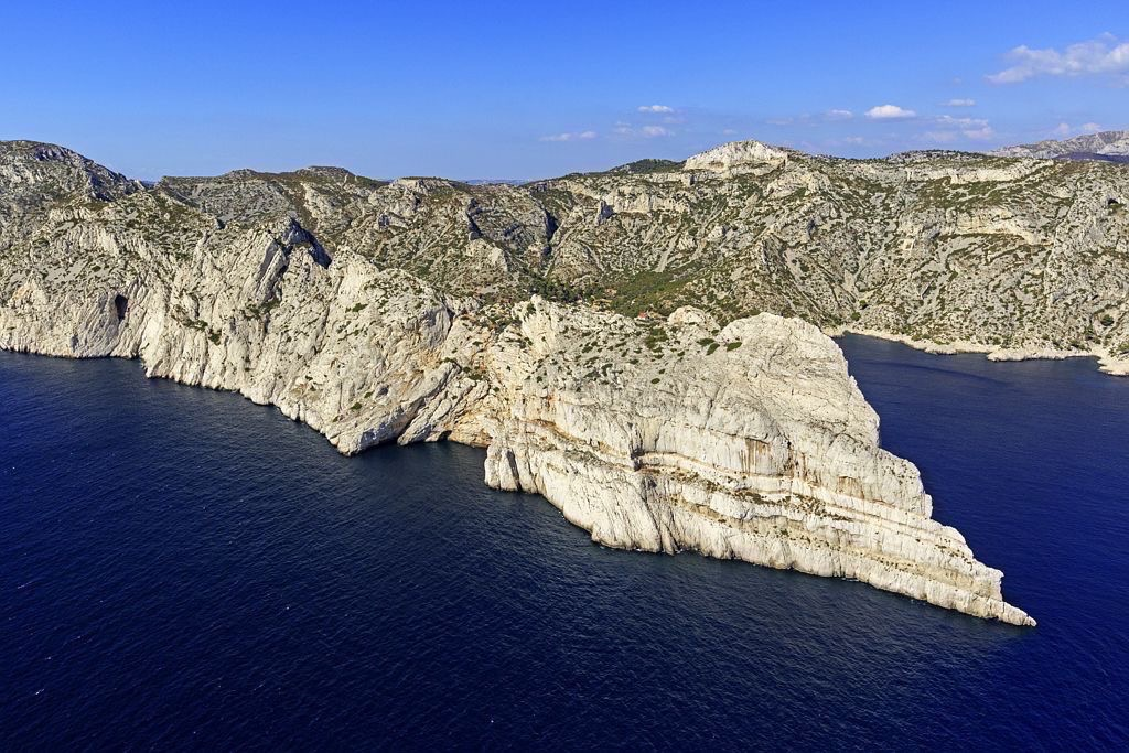 Parc national des Calanques, Marseille, 9e arrondissement, Pointe de la Merveille, Bec de Sormiou