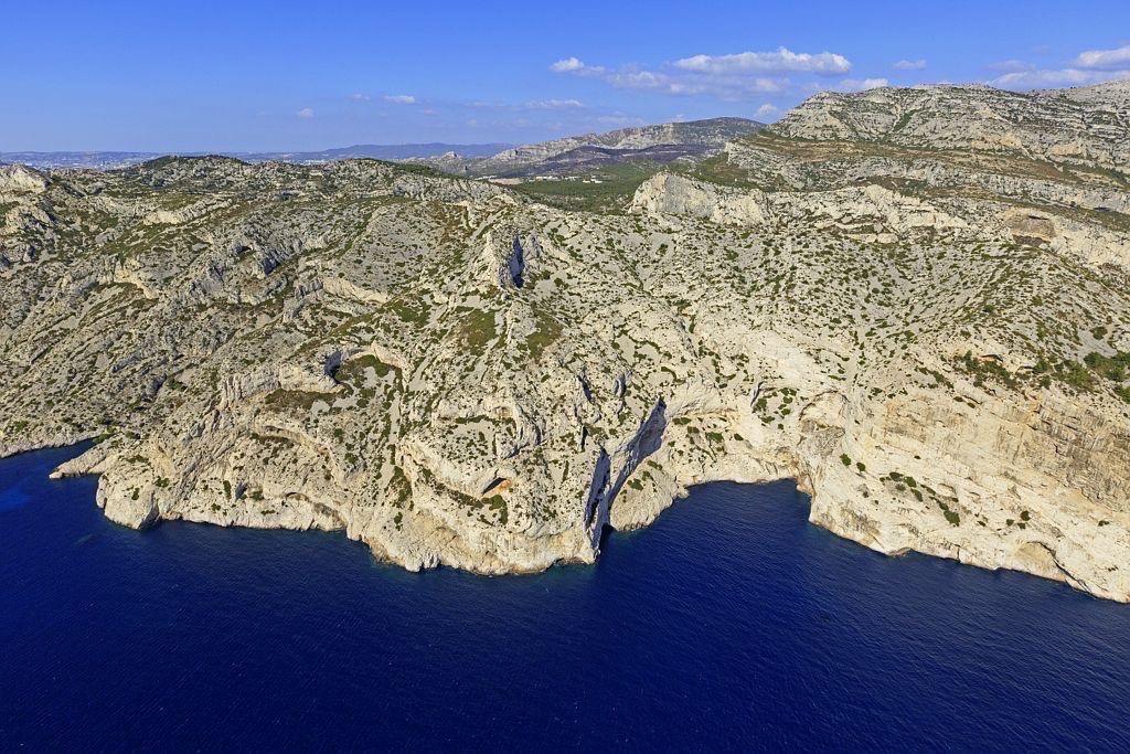 Parc national des Calanques, Marseille, 9e arrondissement, calanque du Canceou