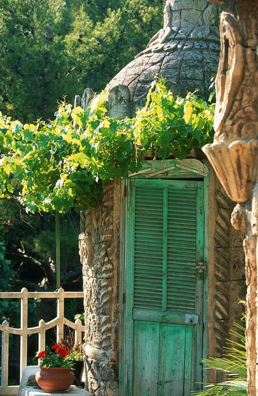 France, Bouches du Rhone (13), Marseille, Corniche JF Kennedy, jardin de rocaille