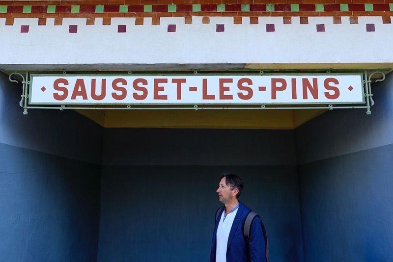 France, Bouches du Rhone (13), La Cote Bleue, Sausset Les Pins, train de La Cote Bleue