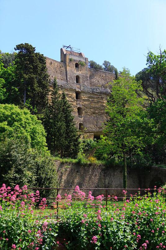 France, Bouches du Rhone (13), Miramas, parc de l'ancienne Poudrerie Royale de Saint Chamas