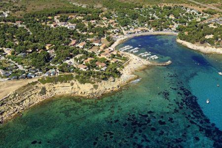 Martigues, quartier de Sainte Croix, calanque des Tamaris