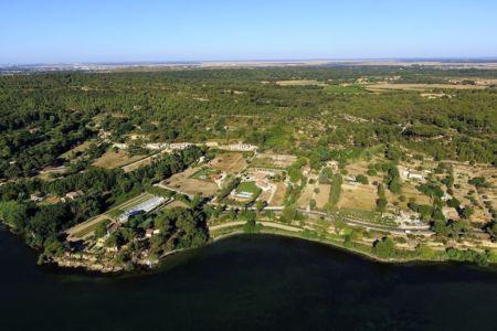 Istres, etang de Berre, camp de Raoux (champ : camp, campo en provencal)