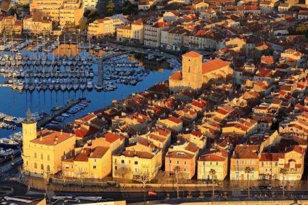 La Ciotat, Vieux Port (vue aerienne)