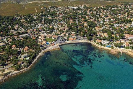 La Cote Bleue, Carry le Rouet, plage de La Tuliere