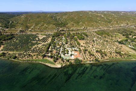 Saint Chamas, quartier Le Canet, etang de Berre