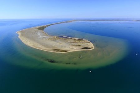 parc naturel regional de Camargue, Port Saint Louis du Rhone, Golf de Fos sur Mer,  They de La Gracieuse