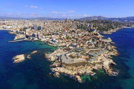 Marseille, 7e arrondissement, quartier d'Endoume, Anse de Malmousque, ilots des Pendus