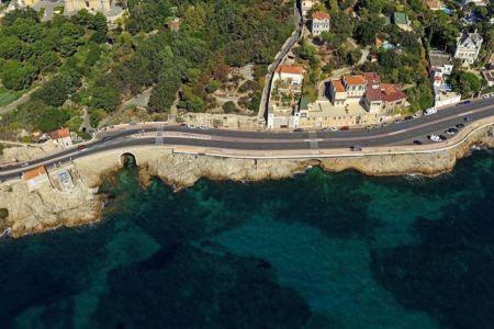 Marseille, 7e arrondissement, quartier Bompard, Rade d'Endoume, Corniche JF Kennedy, le Maregraphe