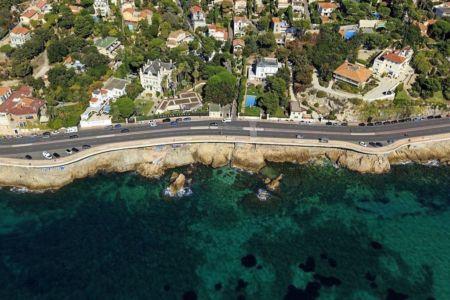 Marseille, 7e arrondissement, quartier Bompard, Rade d'Endoume, Corniche JF Kennedy