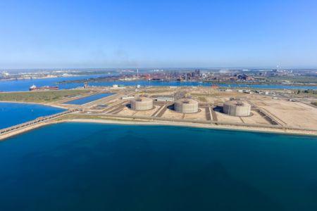Golfe de Fos sur Mer, Grand Port Maritime de Marseille, Fos sur Mer, terminal Methanier de Fos Cavaou