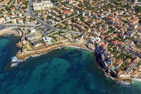 Marseille, 8e arrondissement, quartier Montredon, Pointe de Montredon, Anse des Sablettes