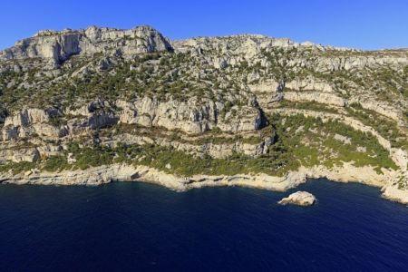 Parc national des Calanques, Marseille, 9e arrondissement, Anse et ilot de la Melette
