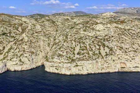 Parc national des Calanques, Marseille, 9e arrondissement, crete de Sormiou, Pointe du Vaisseau
