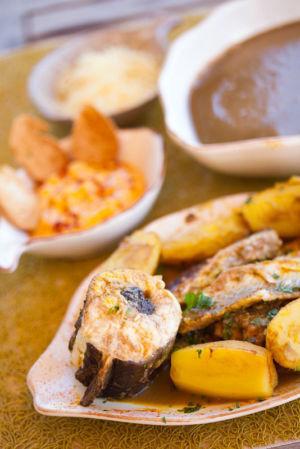 Bouillabaisse, Restaurant Le Lunch, Calanque de Sormiou, 9eme arondissement, Marseille, Bouches du Rhone (13), France