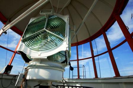 France, Bouches du Rhone (13), Marseille, Ile de Planier au large de Marseille, phare de Planier (71,6 m)