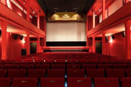 France, Bouches du Rhone (13), La Ciotat, boulevard Clemenceau, Cinema Eden Theatre