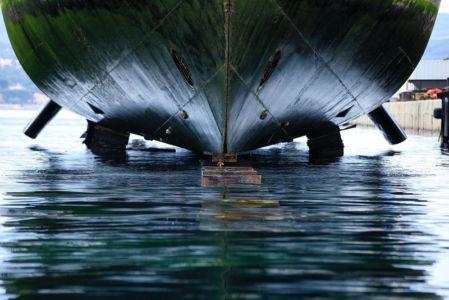 France, Bouches du Rhone (13), La Ciotat, chantiers navals, ascenseur a bateau