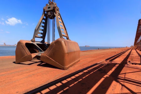 France, Bouches du Rhone (13), Grand Port Maritime de Marseille, Fos sur Mer, terminal mineralier
